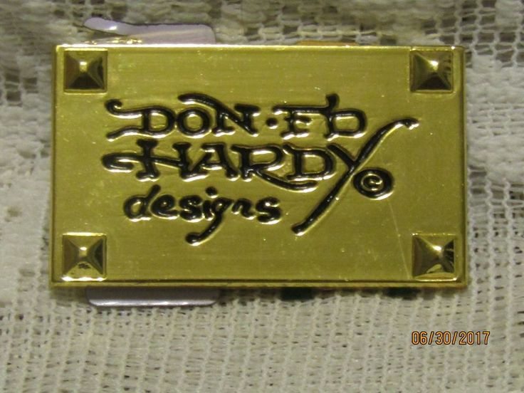 Don Ed Hardy Designs Golden Attachment