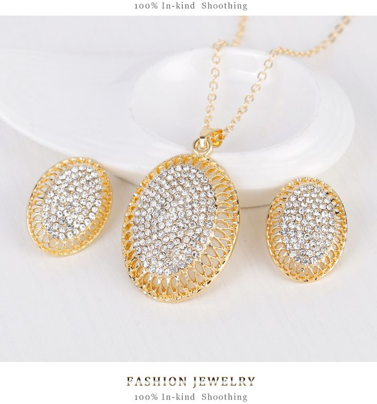 Occident and the United States alloy plating Necklace set (CA103-A)NHDR1463