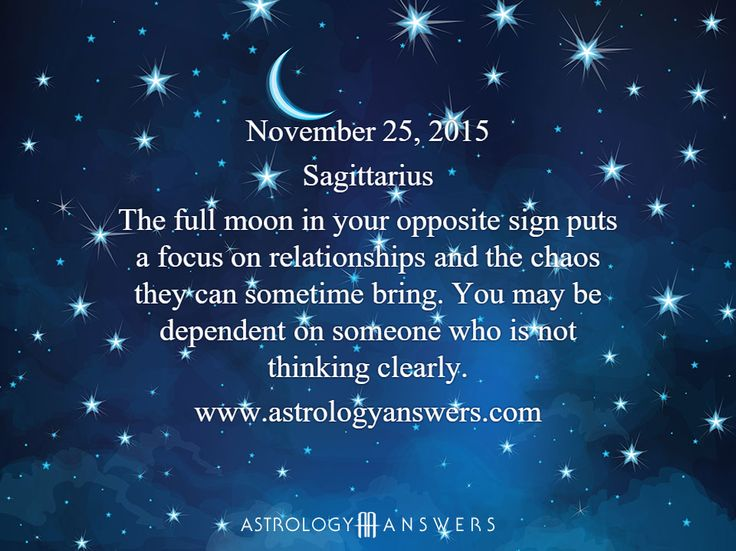 The Astrology Answers Daily Horoscope for Wednesday, November 25, 2015 #astrology