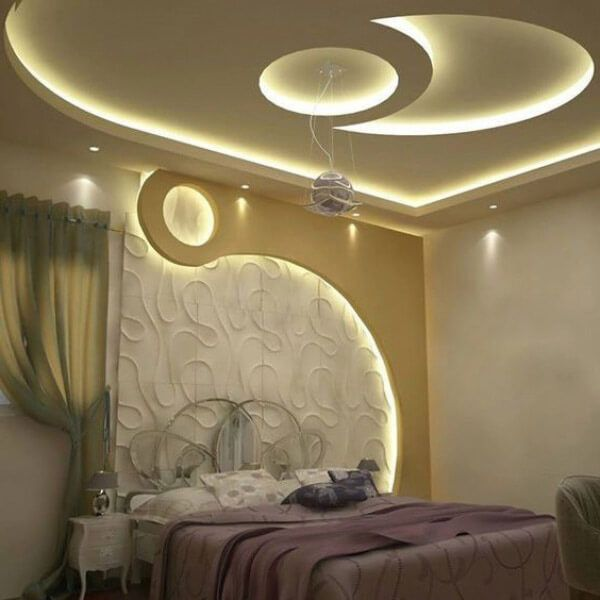 أجمل ديكورات اسقف جبس بورد حديثة غرف نوم ناعمه In 2021 Bedroom False Ceiling Design Ceiling Design Bedroom Modern House Exterior