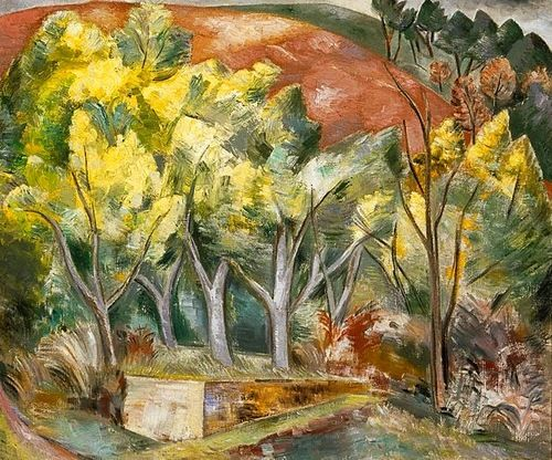 Paul Nash Mimosa Wood The Painting Is A Combination Of