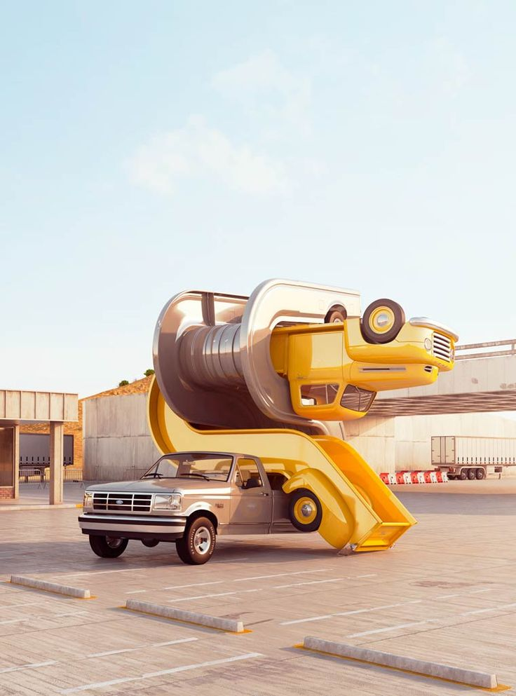 Tales of auto elasticity – The virtual sculptures of Chris LaBrooy