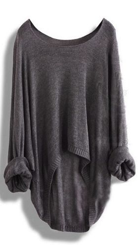 Casual loose sweater Baggy jumper