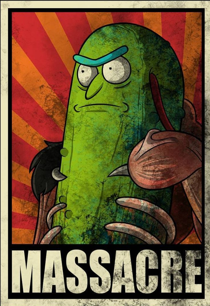 Rick and Morty • Pickle Rick, Massacre
