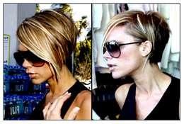 Victoria Beckham Bob Haircut Back View