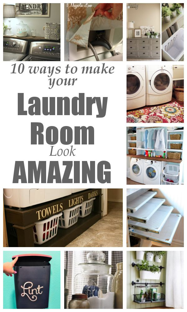 Add more storage by building a custom laundry pedestal. {