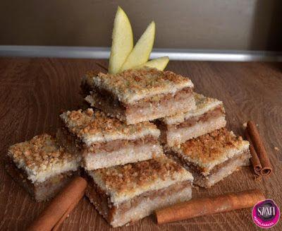 Vegán és paleo diétás almáspite recept ~ Éhezésmentes Karcsúság Szafival