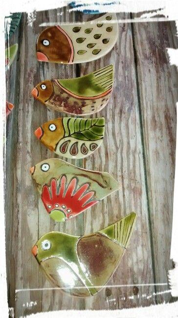 Pájaros !!!!!Ceramica EB!!!!!!