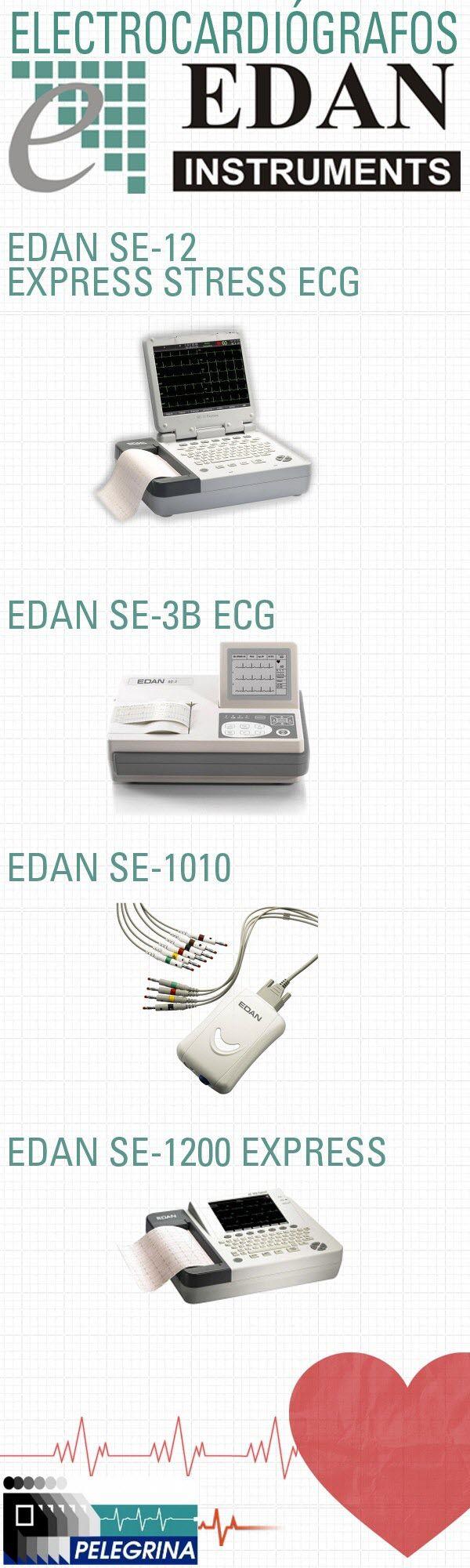 Un electrocardiograma, conocido por sus siglas como ECG o EKG, es un examen sencillo y rápido que registra la actividad eléctrica y variada del corazón. Estas variaciones se captan con unos electrodos a nivel de la superficie de la piel, y a través de los conductores llega al electrocardiógrafo que mide las potenciales de acción del corazón y lo registra. Electrocardiógrafos EDAN: http://www.pelegrinamedical.com/store/c/223-Edan-ECG.aspx