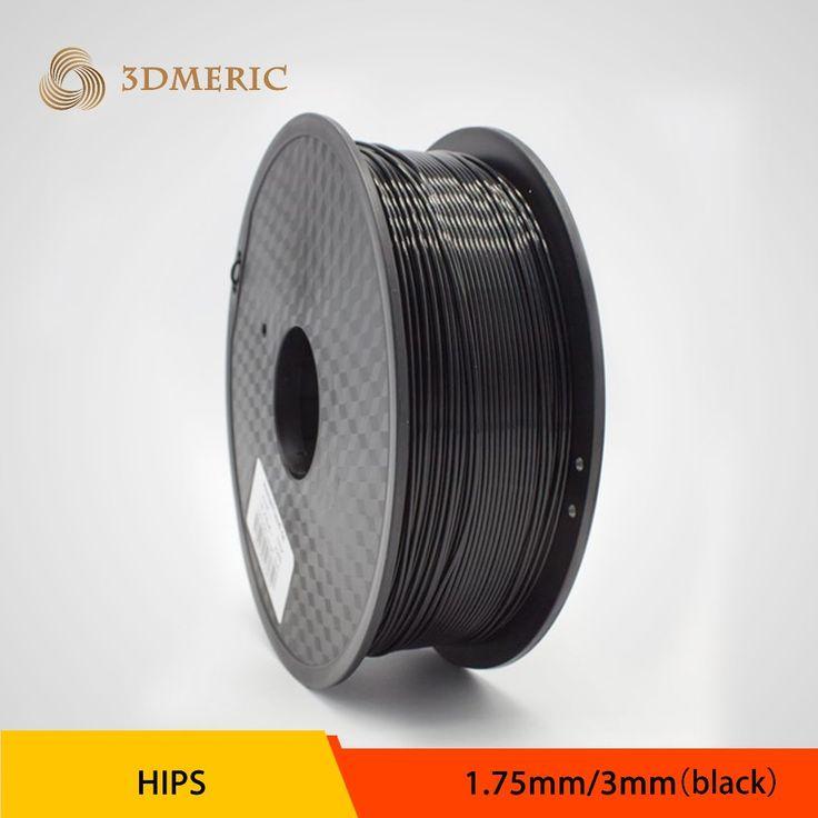 High quality 3D printer supplies HIPS 1.75mm 3.0mm 3D printing supplies for DIY 3D printing Materials Free shipping