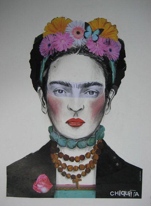 Frida Kahlo by Emma Gale