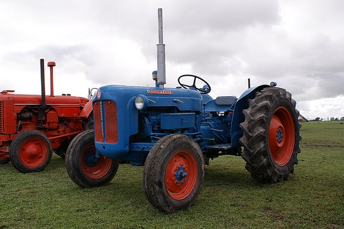 Big Ford Tractors : Best images about our old equipment on pinterest car
