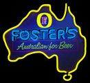 Fosters Australia Neon Beer Sign 24x22, Fosters Neon Beer Signs & Lights | Neon Beer Signs & Lights. Makes a great gift. High impact, eye catching, real glass tube neon sign. In stock. Ships in 5 days or less. Brand New Indoor Neon Sign. Neon Tube thickness is 9MM. All Neon Signs have 1 year warranty and 0% breakage guarantee.