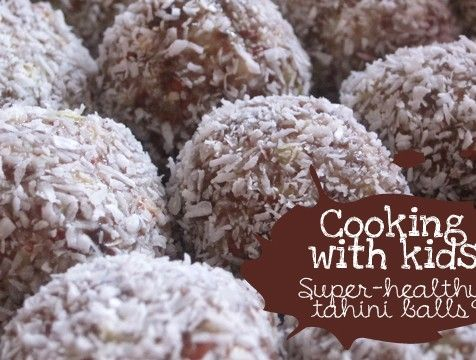 Cooking with kid: Super-healthy tahini ballsVillage Voices
