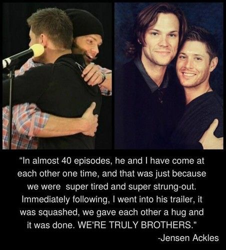 The dynamic between Jensen & Jared is, I believe, what really keeps the show thriving.