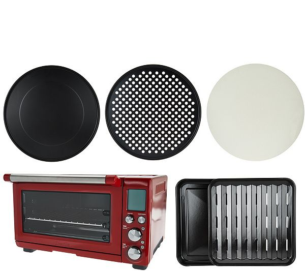 If you're looking for an oven with an IQ, you've found it in Breville's Smart Oven Plus. Page 1 QVC.com