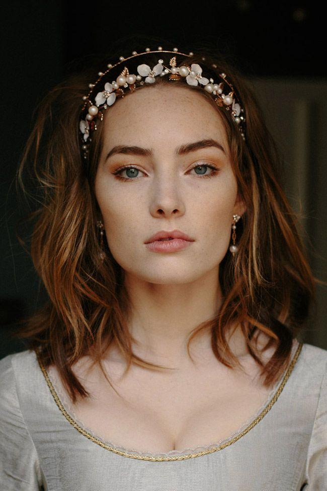 Fashion Bridal Hair Accessories Princess Tiaras Flower /& Leaves Crown Headpieces