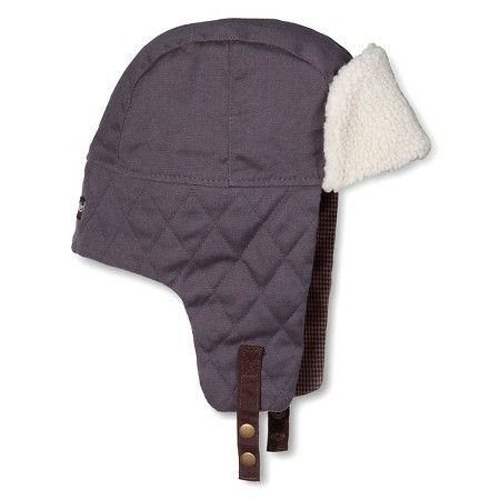 Men's Trapper Hat Gray