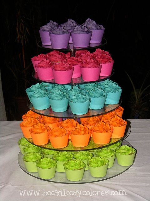my bright birthday cake