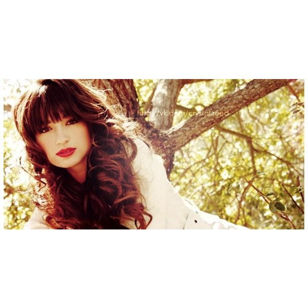 Crystal Reed Кристал Рид ❤ liked on Polyvore featuring crystal reed and teen wolf