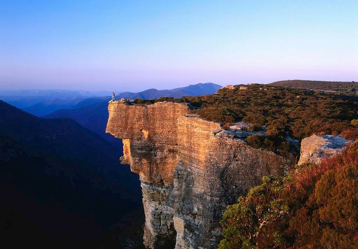 The best of the Blue Mountains. Kanangra Walls, Kanangra-Boyd National Park, NSW.