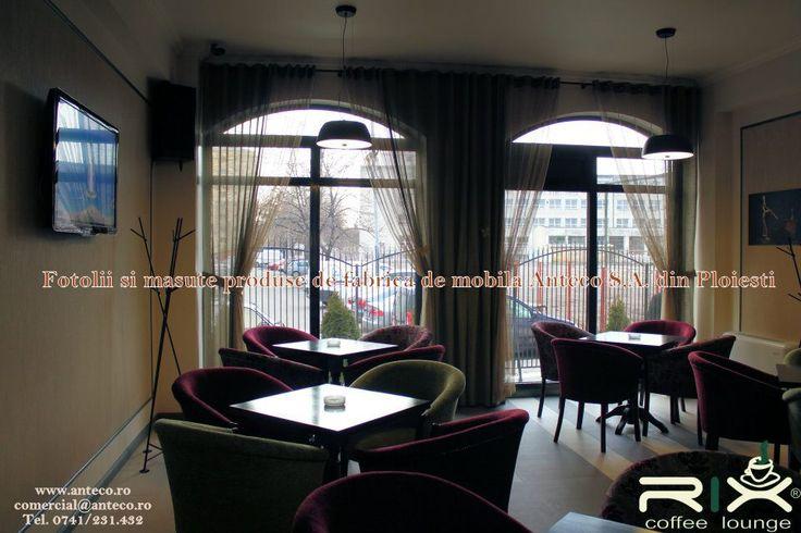 Fotolii si mese pentru cafenea