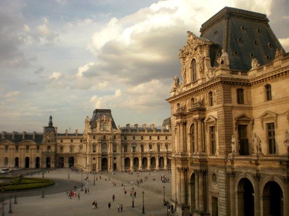 Photograph - Paris - Louvre by Maria Ernest Fragopoulou