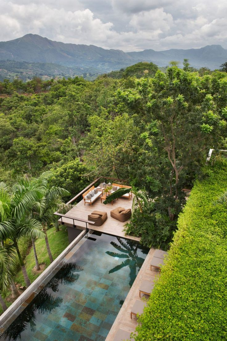 Alberto Burckhard + Carolina Echeverri Design a Tropical Home in Girardot, Colombia