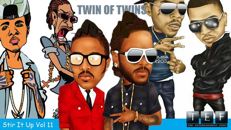 """Twin Of Twins """"Stir It Up"""" Vol 11 Full Review   Alkaline Look Shorty, Vybz Kartel Started Fire - YouTube"""
