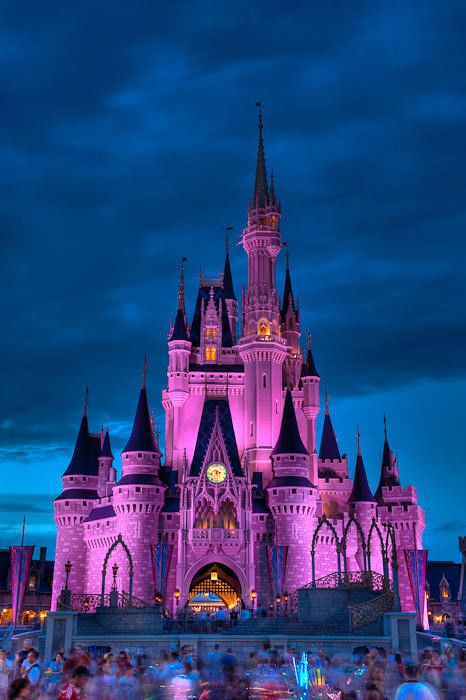 Cinderllas Castle Disney world Florida! iv been there when i was six and it is still one of my best memories! i really wish i could go back!!
