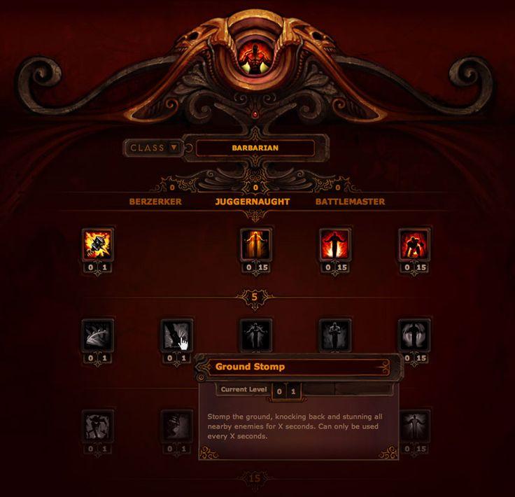 Diablo 3 Skill Trees by Mr--Jack.deviantart.com