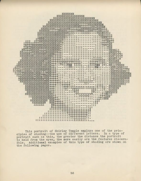 ASCII art from 1939! A full PDF of ARTYPING, a how-to guide by Julius Nelson