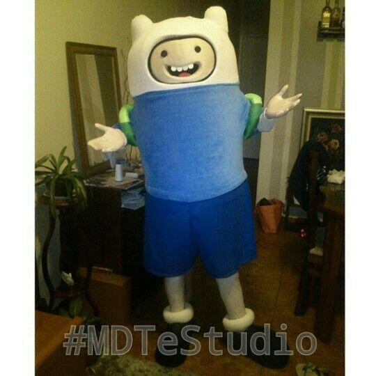 Mais um pronto p entrega!! :D  #FinnTheHuman #FinnOhumano  #AdventureTime #HoraDaAventura #mascot #mascote #BonecosVivo #bonecovivo #personagensVivo #personagemVivo #MdteStudio #klenquen #festa #fantasia