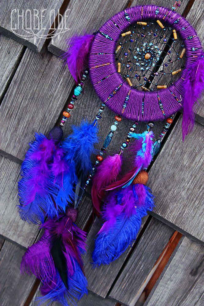 """Купить Ловец снов """"Enchantress"""" - ловец снов, фиолетовый ловец снов, ловцы снов"""