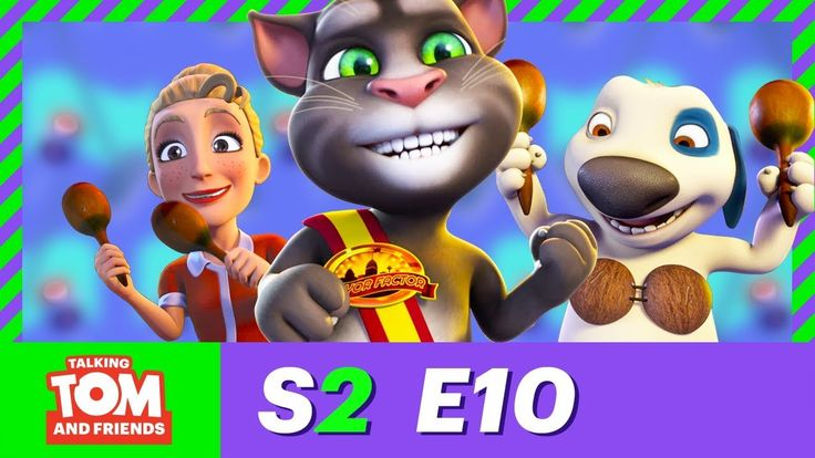 Talking Tom and Friends 2017 new English Happy Town and cereal live Season 2 Episode 10 on youtube