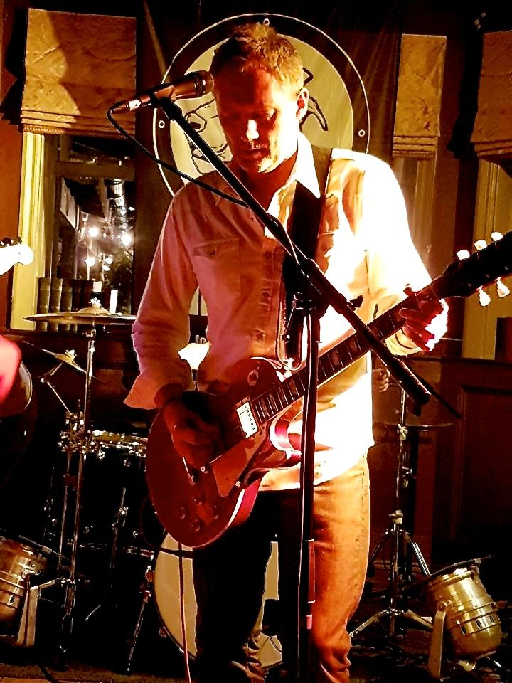 Nuisance in Brackley 2016 - 'one man down' gig
