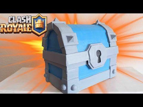 Cómo hacer el Cofre Supermágico de Clash Royale - YouTube