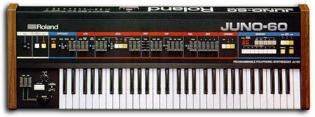 Roland Juno 60 (hired)