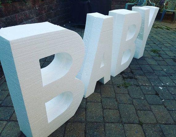 Best 25 foam letters ideas on pinterest hidden alphabet for Giant foam letters diy