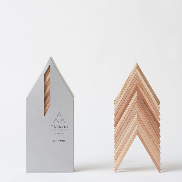 moreTrees tsumiki 隈研吾の積み木 - FAVOR (出産祝・インテリア雑貨の通販サイト)