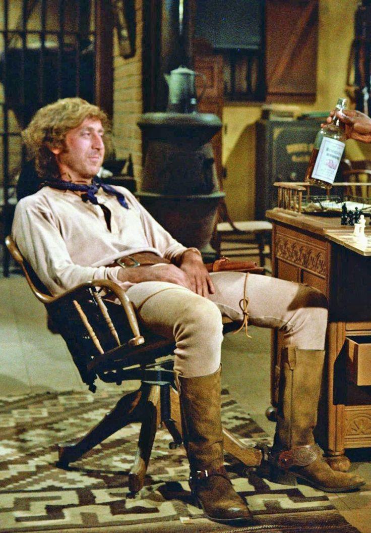 Gene Wilder in Blazing Saddles