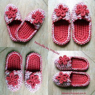 Patrones con trapillo (25): zapatillas