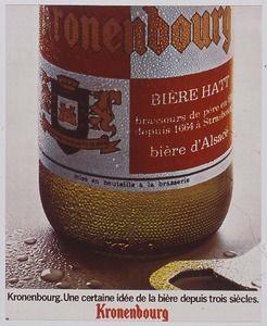 Bière Kronenbourg,