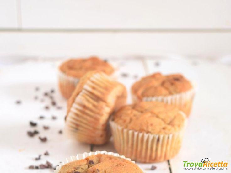 muffins senza glutine con pepite di cacao crudo  #ricette #food #recipes