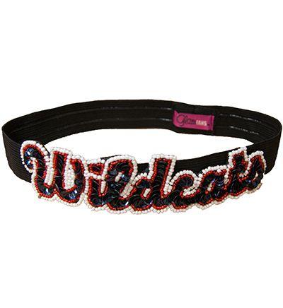 'Wildcats' Elastic Headband | University of Arizona Bookstore