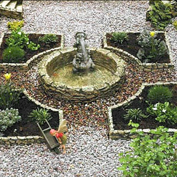 Fairy Garden French Parterre Garden #fairy #garden #fairies #garden #kids #