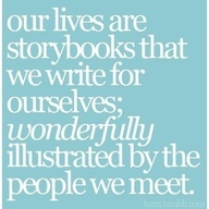 This quote is just delightful, It's so visual. Just picture this in your mind:)