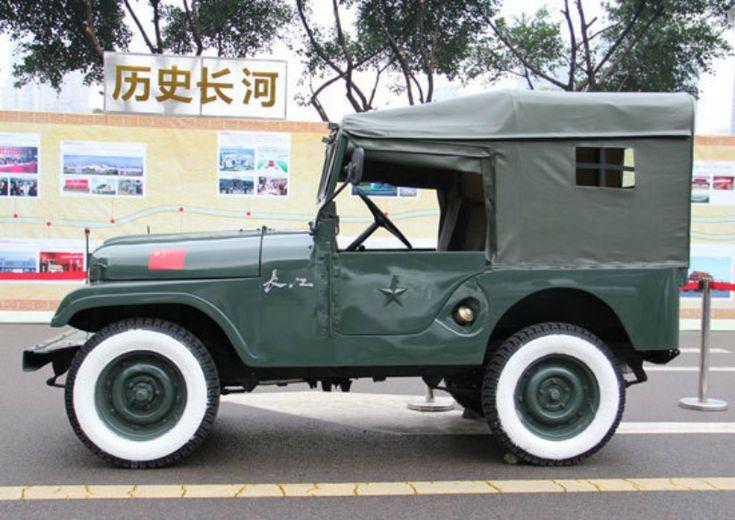 Первый автомобиль Шанхайского орудийного бюро - 1957 год - http://amsrus.ru/2014/07/16/pervyiy-avtomobil-shanhayskogo-orudiynogo-byuro-1957-god/