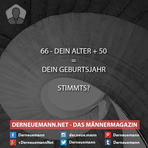 Geburtsjahr #derneuemann #humor #lustig #spaß #sprüche #rätsel