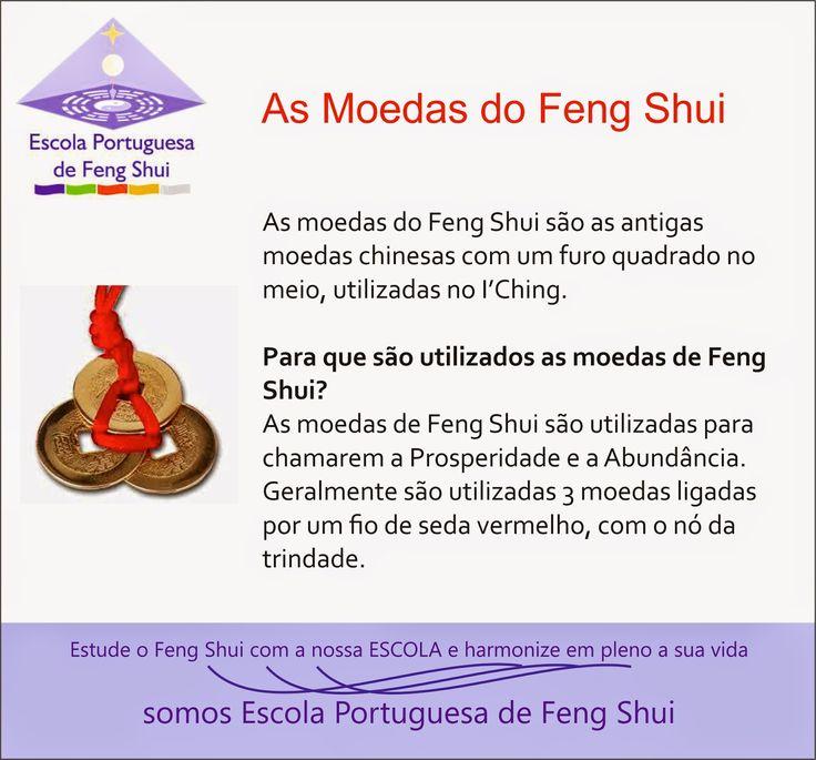 Escola Portuguesa de Feng Shui: MOEDAS NO FENG SHUI